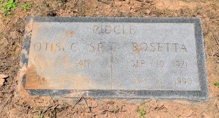 RIDGLE, OTIS CORNELIUS - Jefferson County, Arkansas | OTIS CORNELIUS RIDGLE - Arkansas Gravestone Photos
