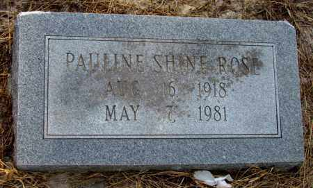 ROSE, PAULINE - Jefferson County, Arkansas | PAULINE ROSE - Arkansas Gravestone Photos