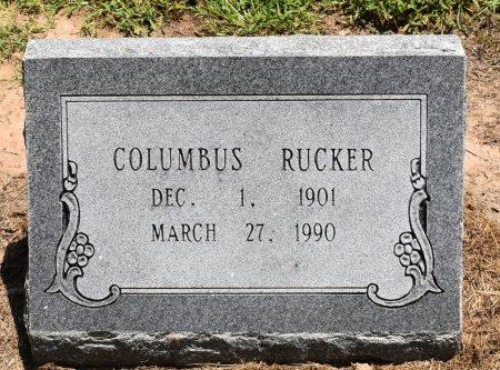 RUCKER, COLUMBUS - Jefferson County, Arkansas | COLUMBUS RUCKER - Arkansas Gravestone Photos