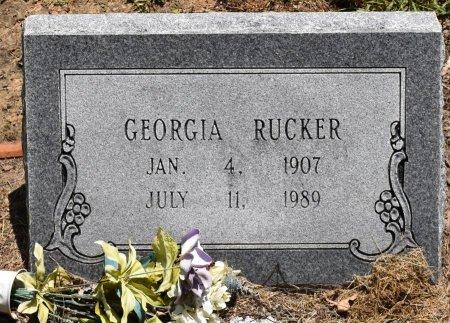 PEARSON RUCKER, GEORGIA - Jefferson County, Arkansas | GEORGIA PEARSON RUCKER - Arkansas Gravestone Photos