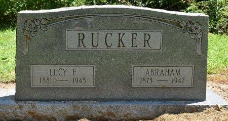 RUCKER, ABRAHAM - Jefferson County, Arkansas | ABRAHAM RUCKER - Arkansas Gravestone Photos