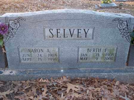 FITCH SELVEY, BERTIE E - Jefferson County, Arkansas | BERTIE E FITCH SELVEY - Arkansas Gravestone Photos