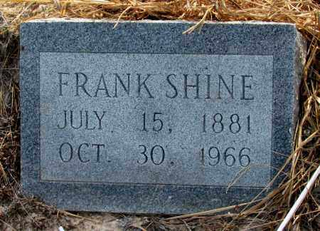 SHINE, FRANK - Jefferson County, Arkansas | FRANK SHINE - Arkansas Gravestone Photos
