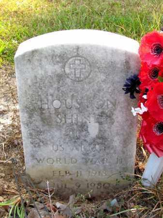 SHINE (VETERAN WWII), HOUSTON - Jefferson County, Arkansas | HOUSTON SHINE (VETERAN WWII) - Arkansas Gravestone Photos