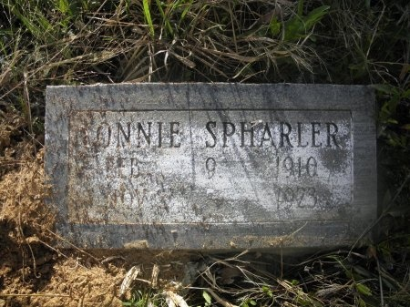 SPHARLER, LONNIE - Jefferson County, Arkansas | LONNIE SPHARLER - Arkansas Gravestone Photos