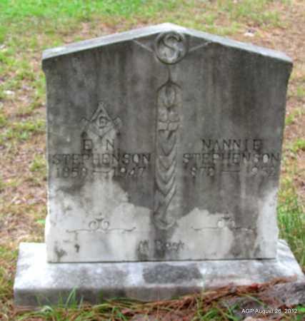 STEPHENSON, E N - Jefferson County, Arkansas | E N STEPHENSON - Arkansas Gravestone Photos