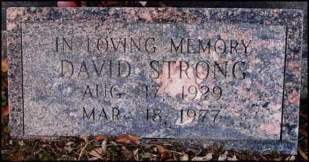 STRONG, DAVID - Jefferson County, Arkansas | DAVID STRONG - Arkansas Gravestone Photos