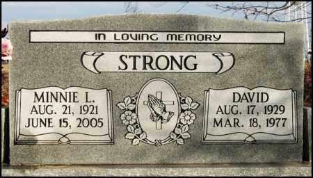 STRONG, MINNIE L. - Jefferson County, Arkansas | MINNIE L. STRONG - Arkansas Gravestone Photos