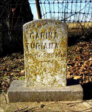TURIANA, GARINA - Jefferson County, Arkansas | GARINA TURIANA - Arkansas Gravestone Photos