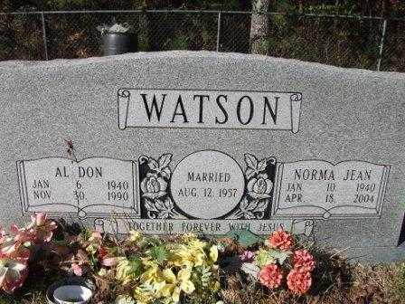 WATSON, NORMA JEAN - Jefferson County, Arkansas   NORMA JEAN WATSON - Arkansas Gravestone Photos