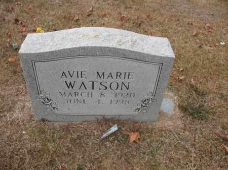 WATSON, AVIE MARIE - Jefferson County, Arkansas   AVIE MARIE WATSON - Arkansas Gravestone Photos