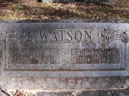 WATSON, MARGARET - Jefferson County, Arkansas | MARGARET WATSON - Arkansas Gravestone Photos