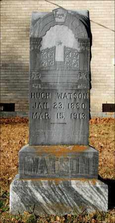 WATSON, HUGH - Jefferson County, Arkansas   HUGH WATSON - Arkansas Gravestone Photos