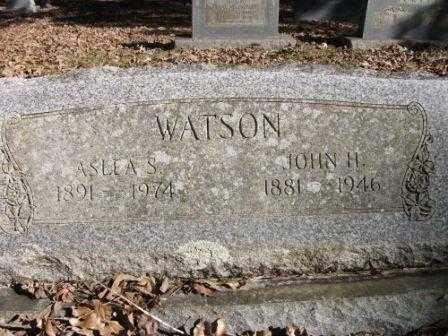 WATSON, JOHN H - Jefferson County, Arkansas | JOHN H WATSON - Arkansas Gravestone Photos