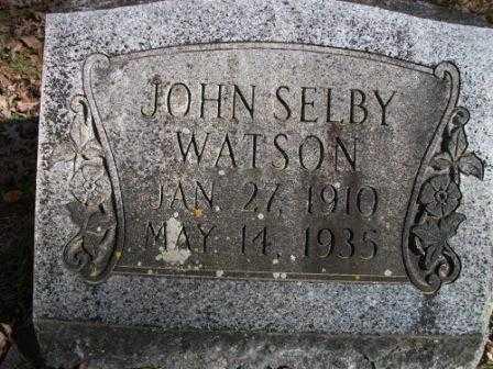 WATSON, JOHN SELBY - Jefferson County, Arkansas | JOHN SELBY WATSON - Arkansas Gravestone Photos