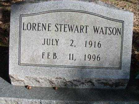WATSON, LORENE - Jefferson County, Arkansas | LORENE WATSON - Arkansas Gravestone Photos