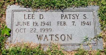 WATSON, LEE D - Jefferson County, Arkansas | LEE D WATSON - Arkansas Gravestone Photos