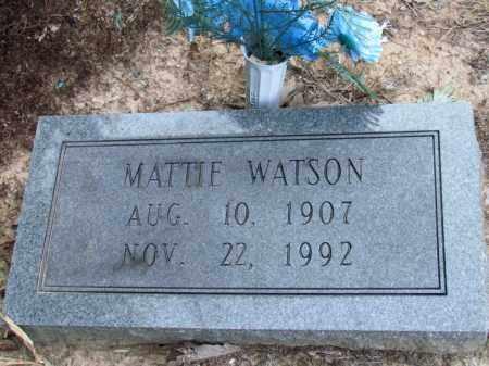 WATSON, MATTIE - Jefferson County, Arkansas | MATTIE WATSON - Arkansas Gravestone Photos