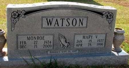 WATSON, MARY V - Jefferson County, Arkansas   MARY V WATSON - Arkansas Gravestone Photos
