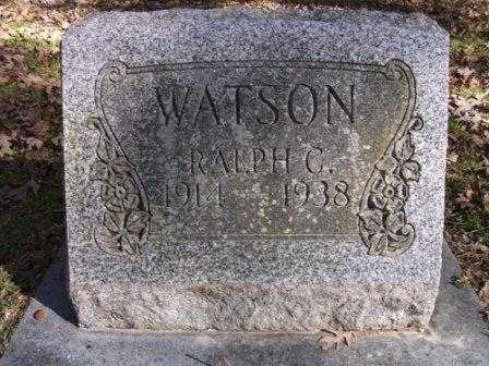 WATSON, RALPH C - Jefferson County, Arkansas | RALPH C WATSON - Arkansas Gravestone Photos