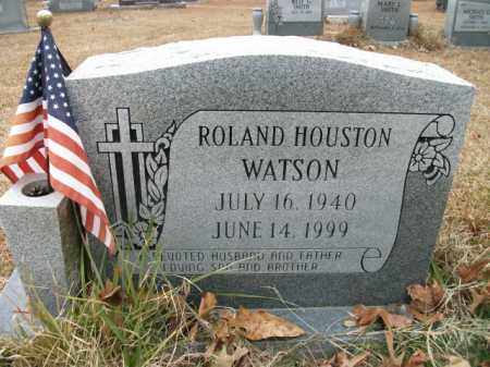WATSON, ROLAND HOUSTON - Jefferson County, Arkansas | ROLAND HOUSTON WATSON - Arkansas Gravestone Photos