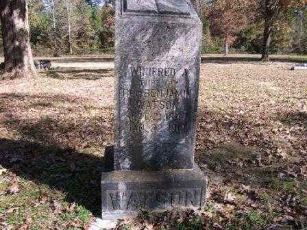 WATSON, WINIFRED - Jefferson County, Arkansas | WINIFRED WATSON - Arkansas Gravestone Photos