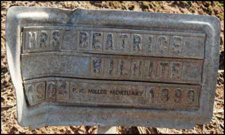 WILHITE, BEATRICE - Jefferson County, Arkansas | BEATRICE WILHITE - Arkansas Gravestone Photos