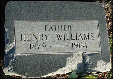 WILLIAMS, HENRY - Jefferson County, Arkansas   HENRY WILLIAMS - Arkansas Gravestone Photos