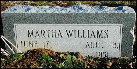 WILLIAMS, MARTHA - Jefferson County, Arkansas | MARTHA WILLIAMS - Arkansas Gravestone Photos