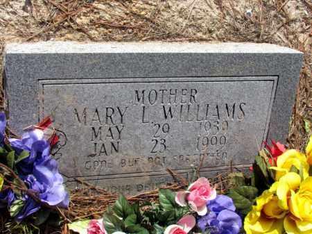 WILLIAMS, MARY L - Jefferson County, Arkansas | MARY L WILLIAMS - Arkansas Gravestone Photos