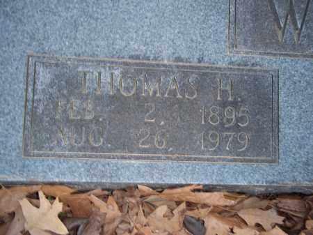 WILLIAMS, THOMAS H - Jefferson County, Arkansas | THOMAS H WILLIAMS - Arkansas Gravestone Photos