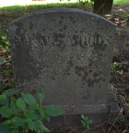 WOODS, M E - Jefferson County, Arkansas | M E WOODS - Arkansas Gravestone Photos
