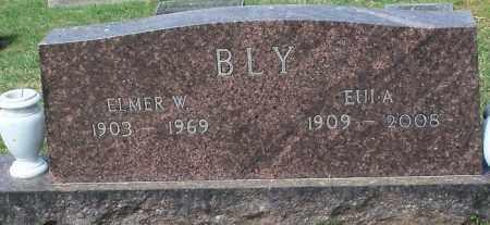 BLY, EULA L - Johnson County, Arkansas | EULA L BLY - Arkansas Gravestone Photos