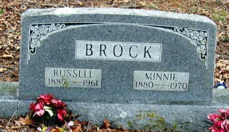 BROCK, RUSSELL - Johnson County, Arkansas   RUSSELL BROCK - Arkansas Gravestone Photos