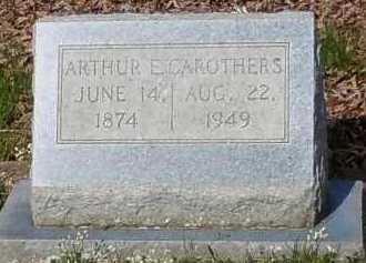 CAROTHERS, ARTHUR E - Johnson County, Arkansas | ARTHUR E CAROTHERS - Arkansas Gravestone Photos