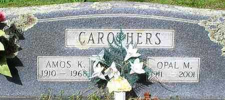 CAROTHERS, OPAL M - Johnson County, Arkansas | OPAL M CAROTHERS - Arkansas Gravestone Photos