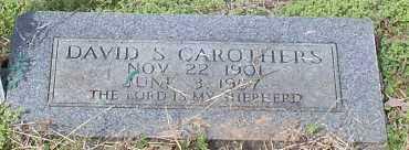 CAROTHERS, DAVID S - Johnson County, Arkansas   DAVID S CAROTHERS - Arkansas Gravestone Photos