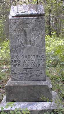 CAROTHERS, D  C - Johnson County, Arkansas | D  C CAROTHERS - Arkansas Gravestone Photos