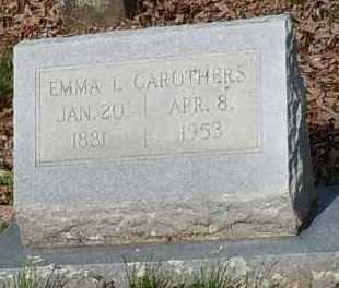 CAROTHERS, EMMA L - Johnson County, Arkansas | EMMA L CAROTHERS - Arkansas Gravestone Photos