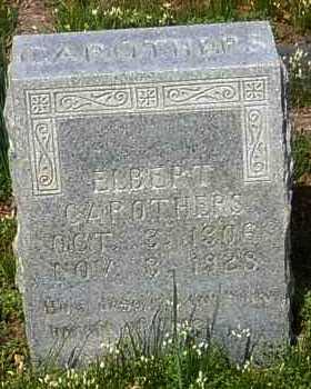 CAROTHERS, ELBERT - Johnson County, Arkansas | ELBERT CAROTHERS - Arkansas Gravestone Photos