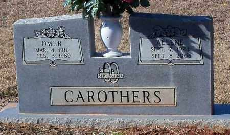 CAROTHERS, OMER - Johnson County, Arkansas   OMER CAROTHERS - Arkansas Gravestone Photos