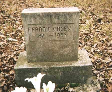CASEY, FANNIE - Johnson County, Arkansas   FANNIE CASEY - Arkansas Gravestone Photos