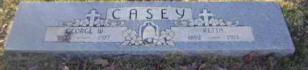 CASEY, RETTA - Johnson County, Arkansas | RETTA CASEY - Arkansas Gravestone Photos
