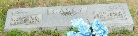 CASEY, LOU ELLA - Johnson County, Arkansas | LOU ELLA CASEY - Arkansas Gravestone Photos