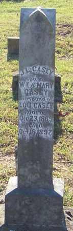 CASEY, J L - Johnson County, Arkansas   J L CASEY - Arkansas Gravestone Photos
