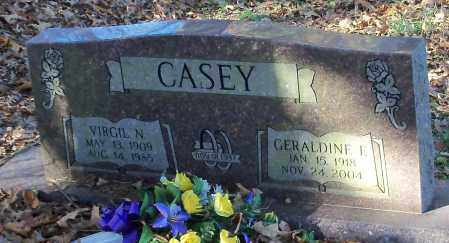 CASEY, GERALDINE F - Johnson County, Arkansas | GERALDINE F CASEY - Arkansas Gravestone Photos