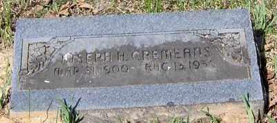 CREMEANS, JOSEPH H - Johnson County, Arkansas | JOSEPH H CREMEANS - Arkansas Gravestone Photos