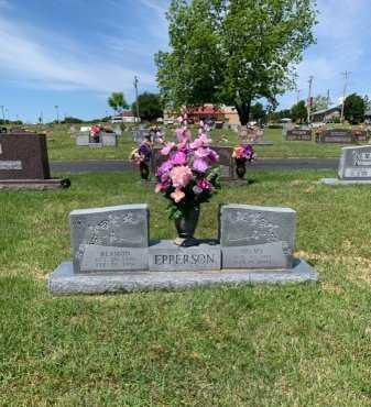DAGGETT EPPERSON, VELMA - Johnson County, Arkansas | VELMA DAGGETT EPPERSON - Arkansas Gravestone Photos