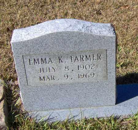 FARMER, EMMA K - Johnson County, Arkansas | EMMA K FARMER - Arkansas Gravestone Photos