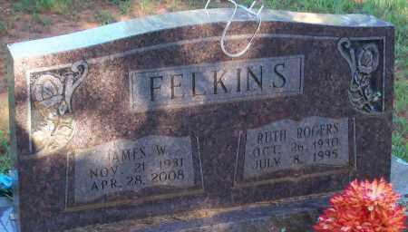 FELKINS, RUTH - Johnson County, Arkansas | RUTH FELKINS - Arkansas Gravestone Photos